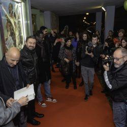 ABANO TERME (PD) 22-03-2019 Cinema Marconi: gli attori Aldo Baglio e Jacky Ido e il regista Enrico Lando presentano il film Scappo a casa al DETOUR FESTIVAL 2019