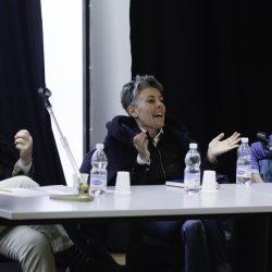 ABANO TERME (PD) 23-03-2019 Cinema Marconi. Detour Festival. Detour Pitch 2019. Da sx  Andrea Stucovitz., Nadia Trevisan, Gianfilippo Pedote.