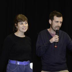 ABANO TERME (PD) 23-03-2019 Cinema Marconi. Detour Festival. Detour Pitch 2019. Nicoletta Traversa e Giuseppe Ferrari.