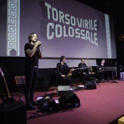 PADOVA 27-03-2019 Cinema portoAstra. Detour Festival concerto di TORSO VIRILE COLOSSALE. Alessandro Grazian presenta il concerto del suo progetto: TORSO VIRILE COLOSSALE