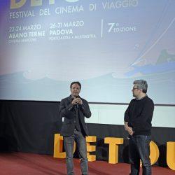 PADOVA 28/03/2019 Cinema PortoAstra. Festival Detour. Domenico Distilo presenta il suo film Manga Do.