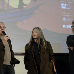 PADOVA 29/03/2019 Cinema PortoAstra. Festival Detour. MArio Brenta  presenta il film IL SORRISO DEL GATTO, con Marco Segato e Karine De Villers