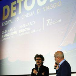 PADOVA 29/03/2019 Cinema PortoAstra. Festival Detour. Silvio Soldini presenta il film TRENO DI PAROLE.