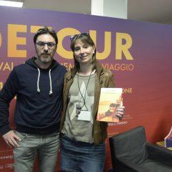 PADOVA 29/03/2019 Spazio Detour. Festival Detour. Matteo Righetto e Simonetta Di Zanutto