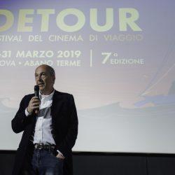 PADOVA 31-03-2019 Cinema PortoAstra. Detour Festival 2019. Le Premiazioni. Franesco Bonsembiante.